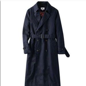 Uniqlo * Ines De La Fressange trench coat navy